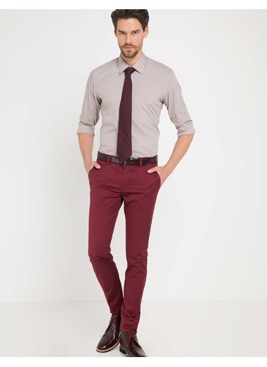Pierre Cardin Pantolon Bordo